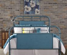 179-br13hfr-bl.jpg-VINTAGE-BLUE-METAL-BED